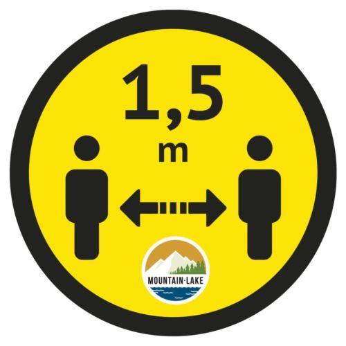Floor sticker up to 400 cm²