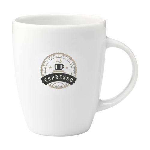 Lungo mug en porcelaine