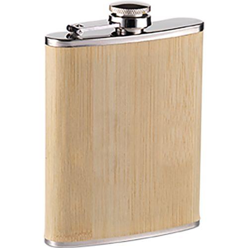 Hipflask Bamboo 200 ml drinking bottle