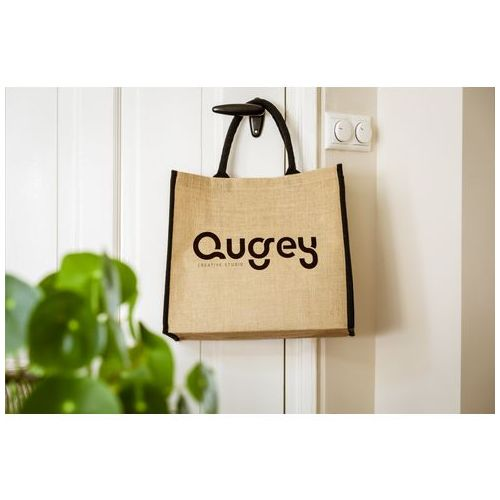 Gerona Jute Shopper sac shopping Objets publicitaires  personnalisation  FRANCE SUD PIERRE CLIPPER BV goodies personnalisation marseille