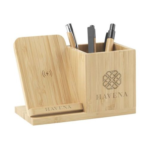 Bamboo Boss support de charge/porte-stylo