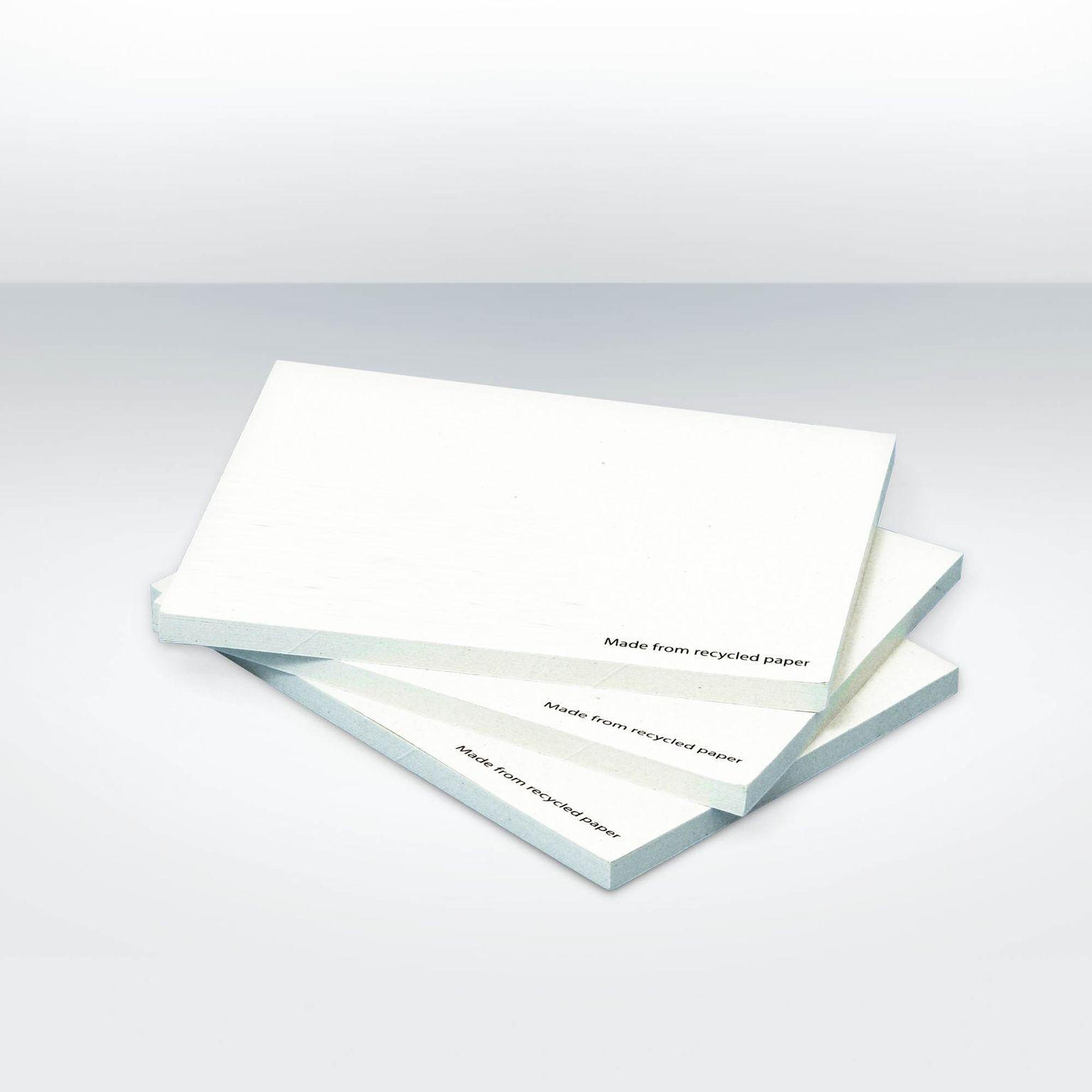 Notes adhésives 100 x 75mm (A7)