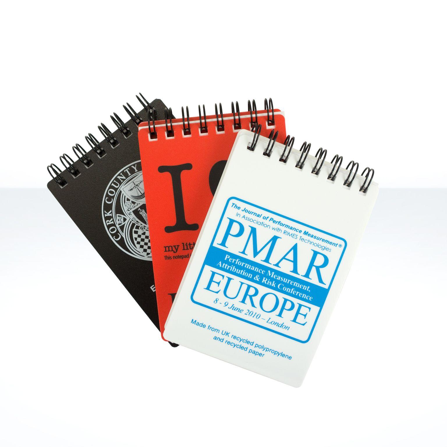 A7 Polypropylene Notebook - Carnet recyclé