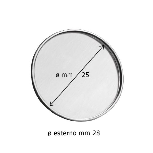 EPINGLE DIAM. 28 - CREUX DIAM.25-NO BOX