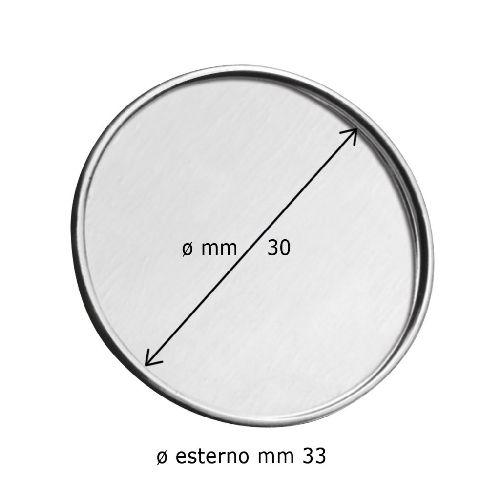 EPINGLE DIAM. 33 - CREUX DIAM.30-NO BOX