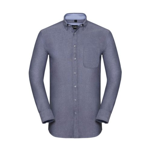 Men`s LS Tailored Washed Oxford Shirt