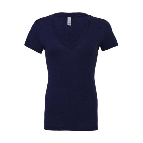 Triblend Deep V-Neck T-Shirt