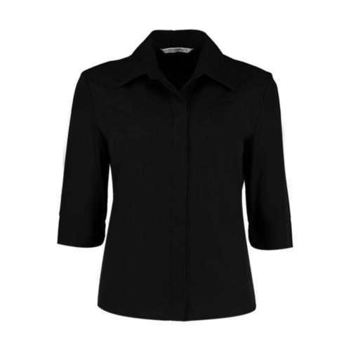 Women`s Tailored Fit Continental Blouse 3/4 Sleeve