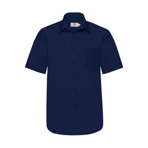 Poplin Shirt Short Sleeve