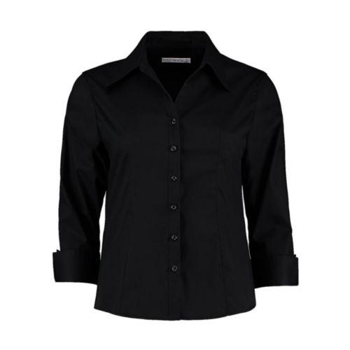 Women`s Tailored Fit Premium Oxford 3/4 Shirt