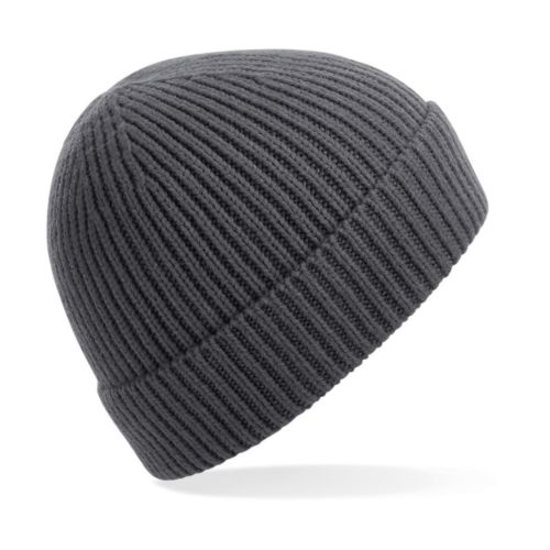 Engineered Knit Ribbed Beanie Fashion Goodiz goodies objet personnalisé cadeaux d affaire objets publicitaires