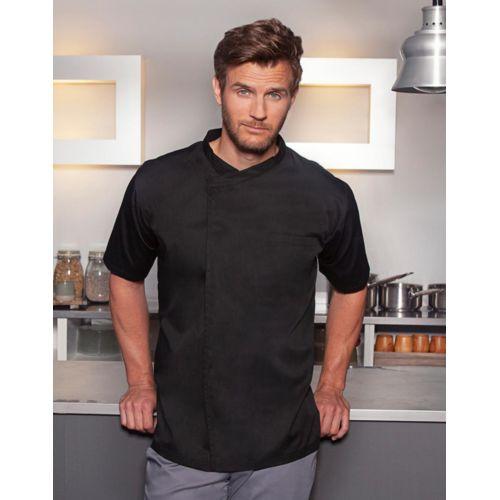 Chef`s Shirt Basic Short Sleeve