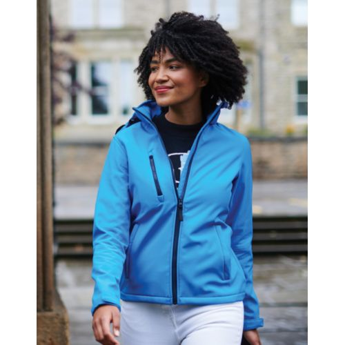 Women`s Venturer 3-Layer Hooded Softshell Jacket