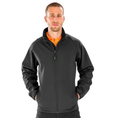 Men`s Recycled 2-Layer Printable Softshell Jacket