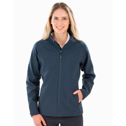 Women`s Recycled 2-Layer Printable Softshell Jkt