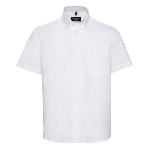 Men's Short Sleeve Classic Twill Shirt