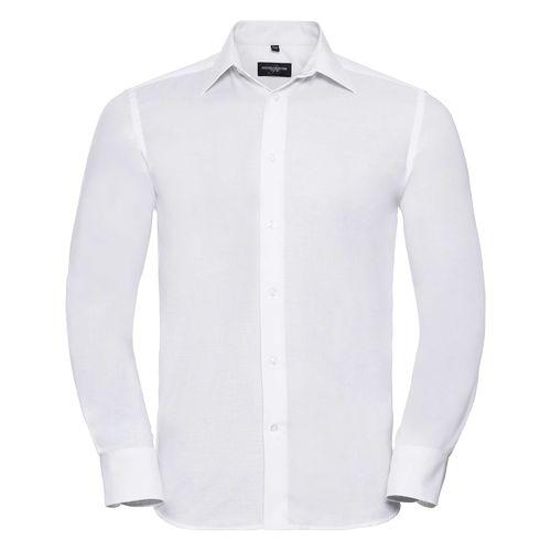 Men's Long Sleeve Tailored Oxford Shirt