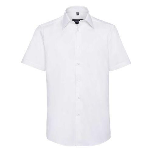 Men's Short Sleeve Tailored Oxford Shirt