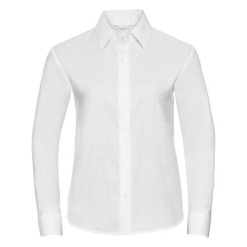 Ladies' Long Sleeve Tailored Oxford Shirt