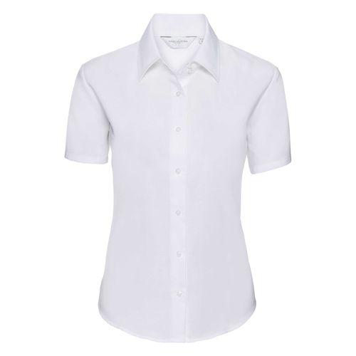 Ladies' Short Sleeve Tailored Oxford Shirt