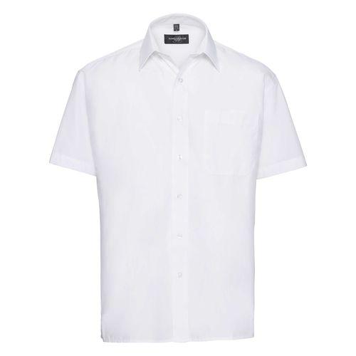 Men's Short Sleeve Classic Polycotton Poplin Shirt