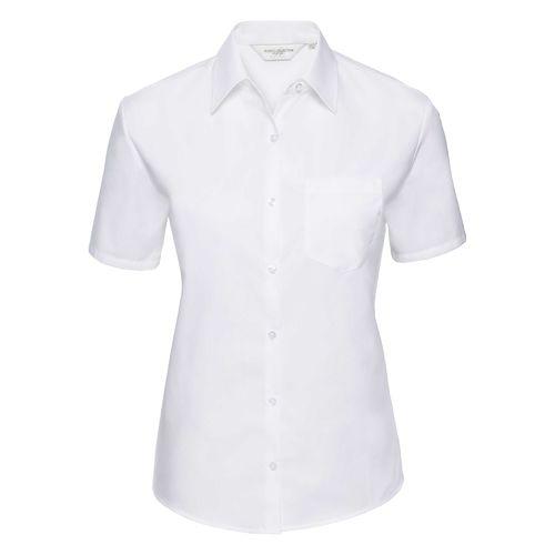 Ladies' Short Sleeve Classic Pure Cotton Poplin Shirt