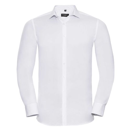 Men's Long Sleeve Fitted Ultimate Stretch Shirt