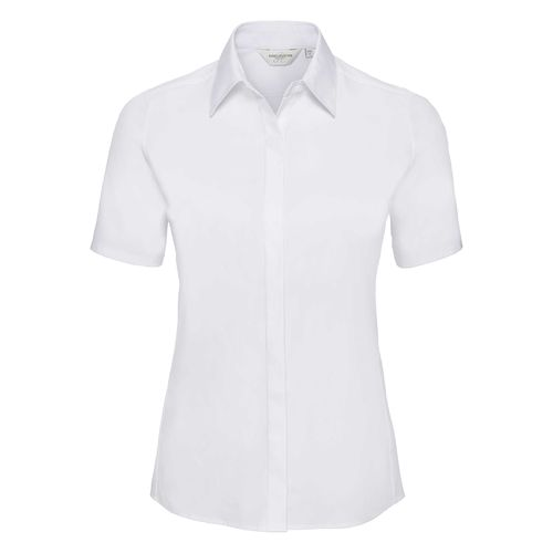 Ladies' Short Sleeve Fitted Ultimate Stretch Shirt