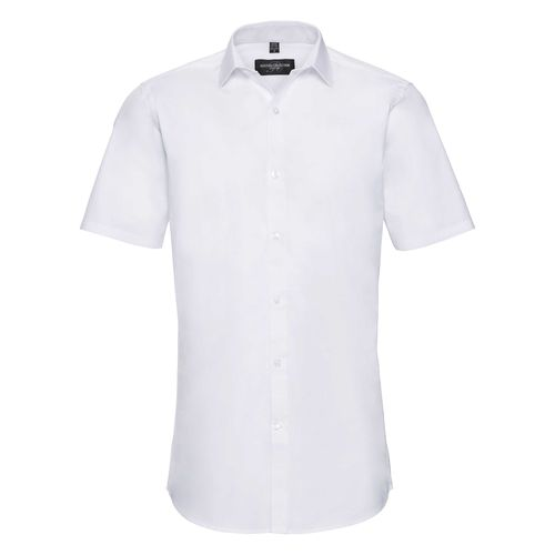 Men's Short Sleeve Fitted Ultimate Stretch Shirt