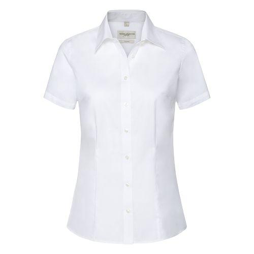 Ladies' Short Sleeve Tailored Coolmax® Shirt