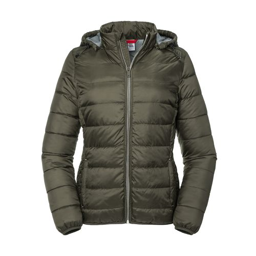 Ladies Hooded Nano Jacket