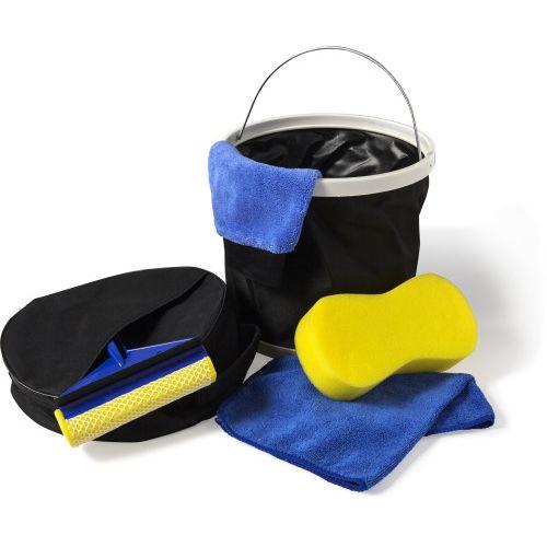 Set de nettoyage dans une housse