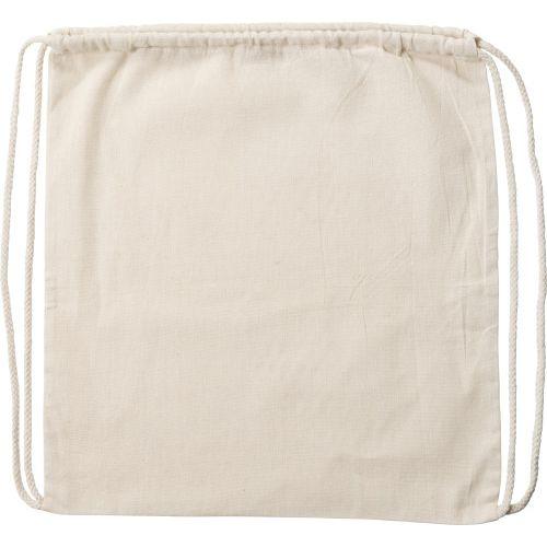 Sac à dos en coton 120 g/m2
