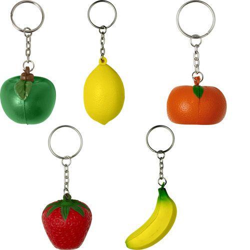 Porte-clés anti-stress 'fruit'