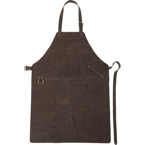Tablier en cuir reconstitué