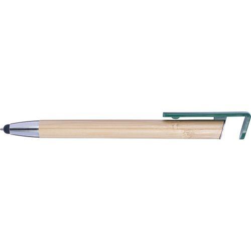 Stylo bille en bambou et plastique