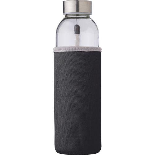 Bouteille en verre d'une contenance de 0,50 L.