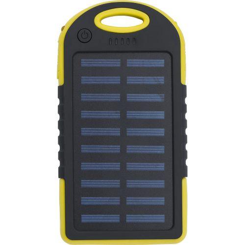 Power bank de energia solar ABS emborrachado