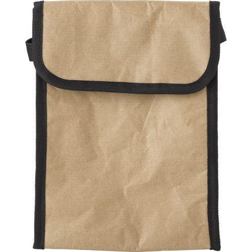 Lunch bag isotherme en papier laminé.