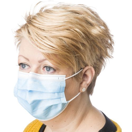 Masque chirurgical (boîte de 50 pcs)