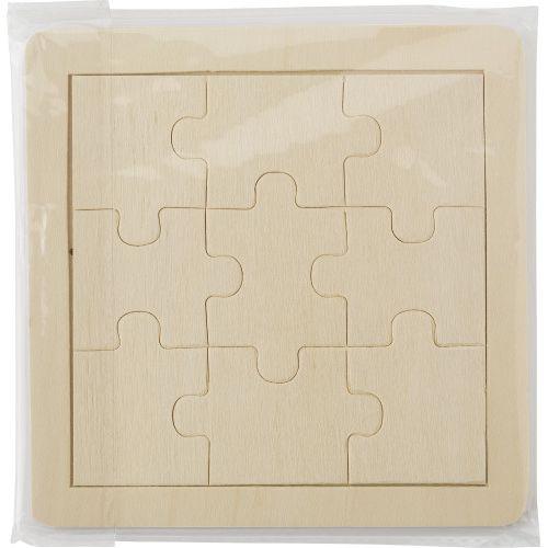 Puzzle 9 pièces en bois   PHOSPHORESCENCE 267, rue François Perrin par PHOSPHORESCENCE
