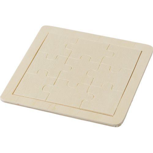 Puzzle 9 pièces en bois