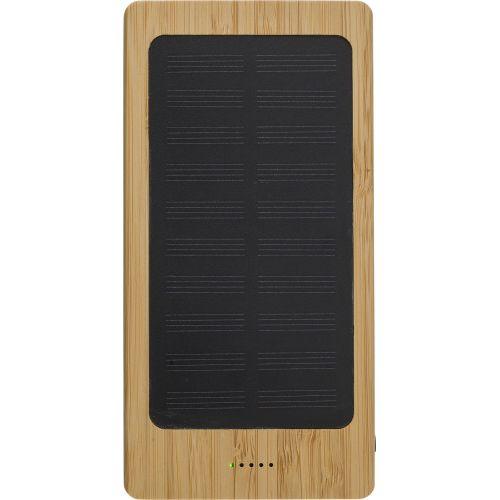 Power banf solaire en bambou