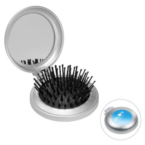 Brosse à cheveux avec miroir