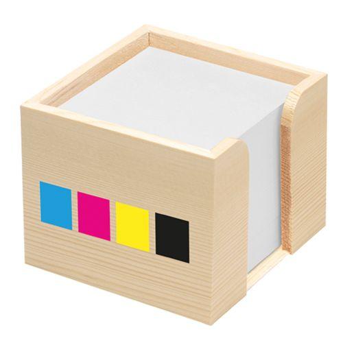 Collecteur de fiches en bois