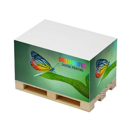 """Cube papier """"palette"""" personnalisé  goodies objets publicitaires"""
