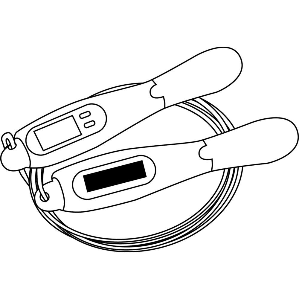 Corde à sauter digitale ATHLETIC