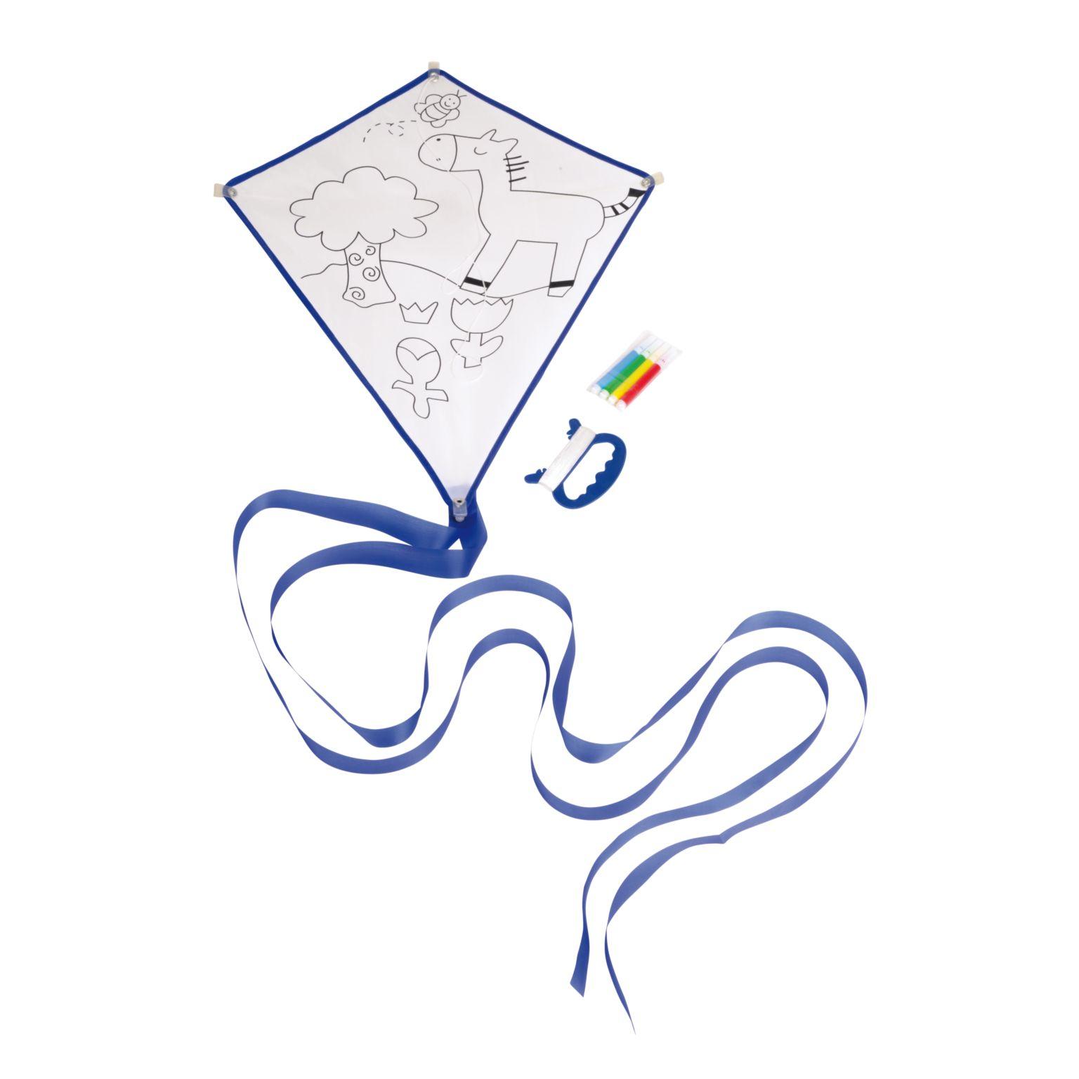 Cerf-volant à colorier ARTISTIC