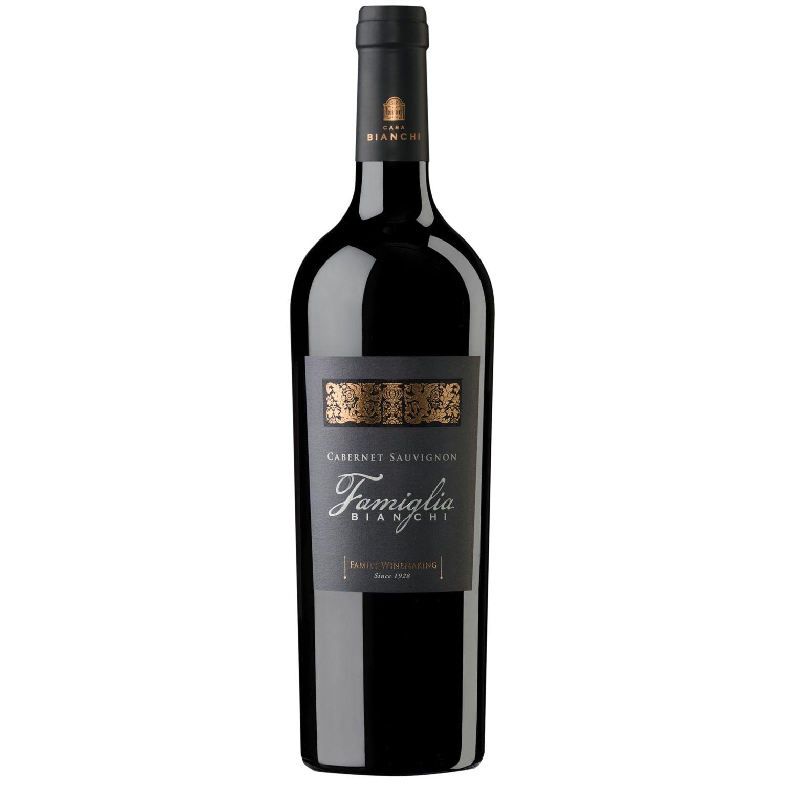 Red Wine, 2012 FAMIGLIA BIANCHI – CABERNET SAUVIGNON