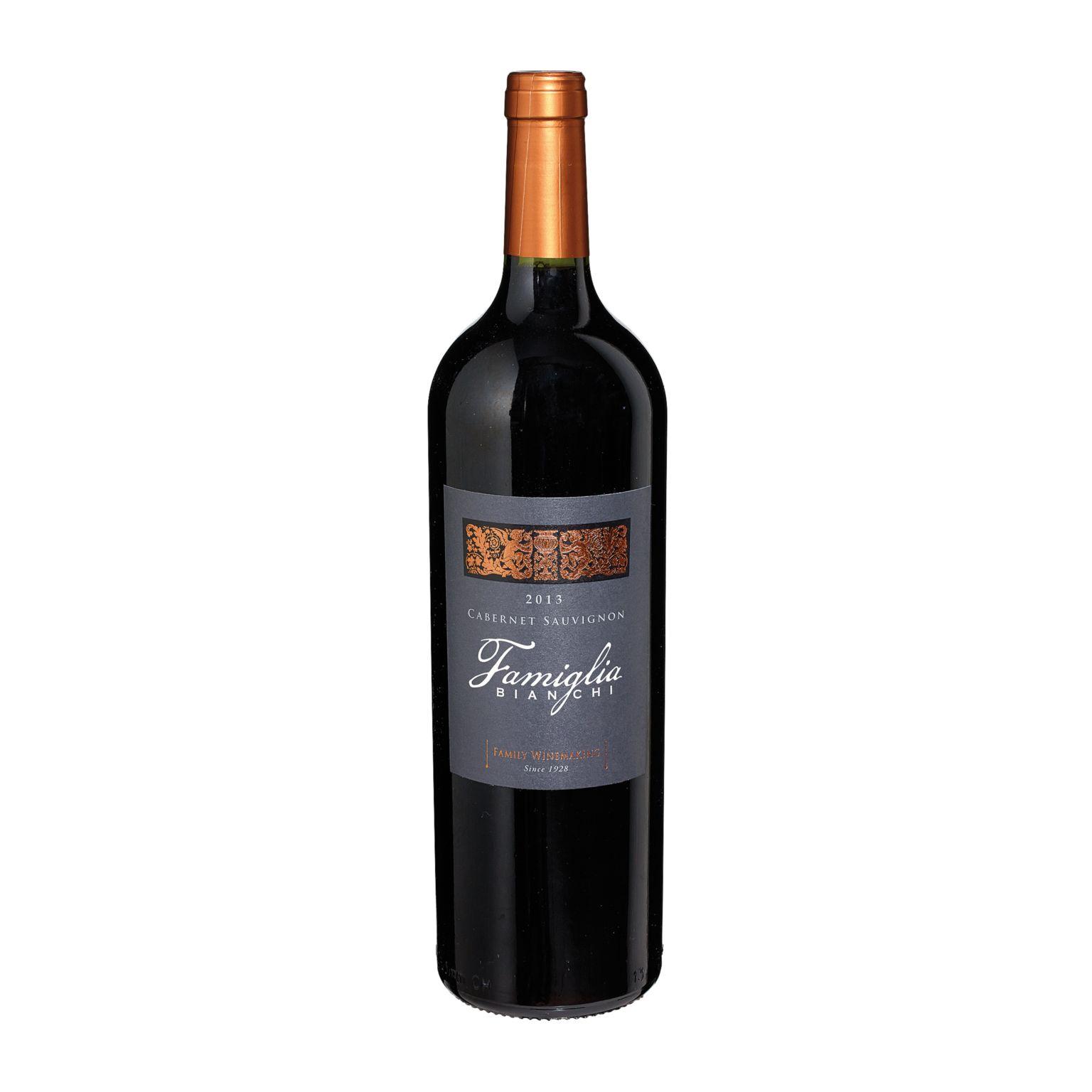 Red Wine, 2013 FAMIGLIA BIANCHI – CABERNET SAUVIGNON